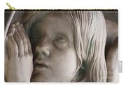 Guardian Angel With Praying Hands Carry-all Pouch