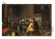 Guardroom With The Deliverance Of Saint Peter Carry-all Pouch