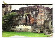 Guatemalan Church Courtyard Ruins Carry-all Pouch