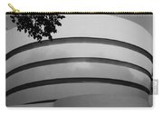 Guggenheim In The Round In Black And White Carry-all Pouch