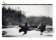Guides Shooting Rapids Carry-all Pouch by Winslow Homer