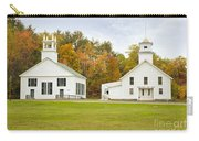 Guildhall Village Historic District In Autumn Vermont Carry-all Pouch