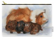 Guinea Pig Family Carry-all Pouch