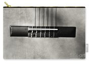Guitar Abstract In Monochrome Carry-all Pouch