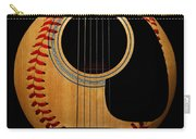 Guitar Baseball Square Carry-all Pouch by Andee Design