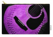Guitar Grape Baseball Square Carry-all Pouch