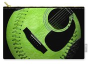 Guitar Keylime Baseball Square  Carry-all Pouch