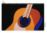 Guitar Of Colors Carry-all Pouch