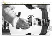 Guitar Player Carry-all Pouch by Aidan Moran