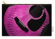Guitar Raspberry Baseball Carry-all Pouch