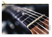 Guitar Strings Carry-all Pouch by Stelios Kleanthous