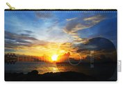 Guitar Sunset - Guitars By Sharon Cummings Carry-all Pouch