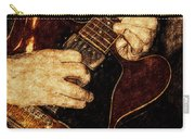 Guitar Tinted Copper Carry-all Pouch