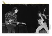 Guitarists Stevie Ray Vaughan W Jeff Beck Carry-all Pouch