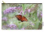 Gulf Fritillary Agraulis Vanillae-featured In Nature Photography-wildlife-newbies-comf Art Groups  Carry-all Pouch