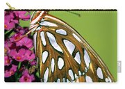 Gulf Fritillary Butterfly Agraulis Carry-all Pouch