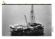 Gulf Of Mexico Oil Rig, 1950 Carry-all Pouch