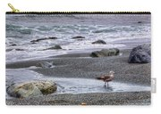 Gull And Black Sand Beach - California Carry-all Pouch