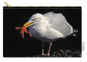 Gull With Starfish Carry-all Pouch