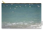 Gulls Flying Over The Ocean Carry-all Pouch