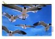 Gulls In Flight Carry-all Pouch
