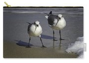 Gulls On The Beach Carry-all Pouch