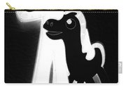 Gumby And Pokey B F F Black White Carry-all Pouch
