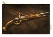 Gun - Pistols At Dawn Carry-all Pouch by Mike Savad