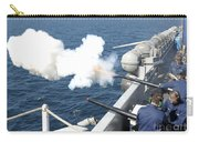 Gunners Mates Test Fire The Ships Carry-all Pouch