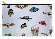 Guns And Roses  Carry-all Pouch