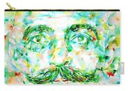Gurdjieff- Watercolor Portrait Carry-all Pouch