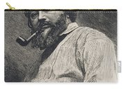Gustave Courbet Carry-all Pouch