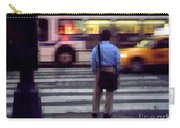 Crossing The Street - Traffic Carry-all Pouch