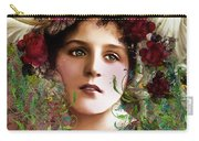 Gypsy Girl Of Autumn Vintage Carry-all Pouch
