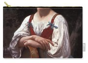 Gypsy Girl With A Basque Drum Carry-all Pouch