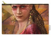 Gypsy Woman Carry-all Pouch by Ciro Marchetti