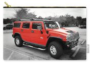 Red Hummer H2 Series  Carry-all Pouch