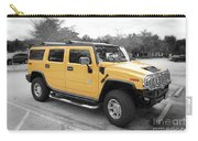Hummer H2 Series Yellow Carry-all Pouch