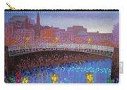 Ha Penny Bridge Dublin  Cropped Carry-all Pouch