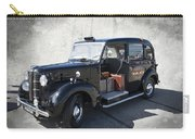 Hackney Carriage Austin Fx3 Of London C. 1955 Carry-all Pouch