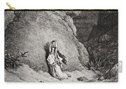 Hagar And Ishmael In The Desert Carry-all Pouch