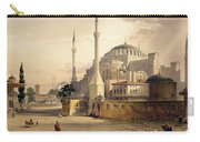 Haghia Sophia, Plate 17 Exterior View Carry-all Pouch
