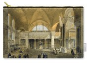 Haghia Sophia, Plate 9 The New Imperial Carry-all Pouch by Gaspard Fossati