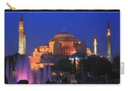 Hagia Sophia At Night Istanbul Turkey  Carry-all Pouch