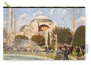 Hagia Sophia Editorial Carry-all Pouch by Antony McAulay