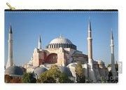 Hagia Sophia Mosque Landmark In Instanbul Turkey Carry-all Pouch