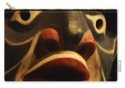 Haida Carved Wooden Mask 5 Carry-all Pouch