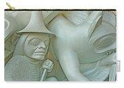 Haida Sculpture Closeup In Canadian Museum Of Civilization In Gatineau-quebec-canada Carry-all Pouch