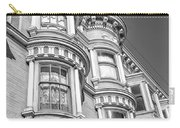 Haight Street Windows Bw Carry-all Pouch
