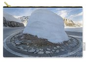 Hairpin Bend With Snow Carry-all Pouch